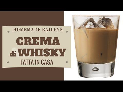 CREMA DI WHISKY FATTA IN CASA DA BENEDETTA - Homemade Whisky Cream
