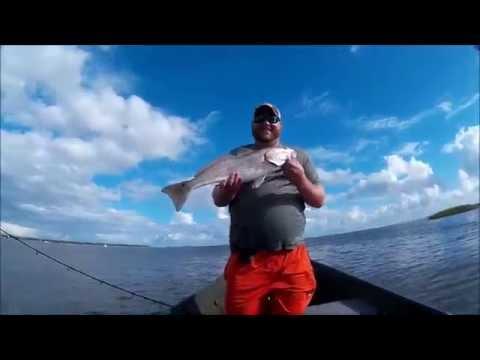 Summer redfishing in Beaufort South Carolina!
