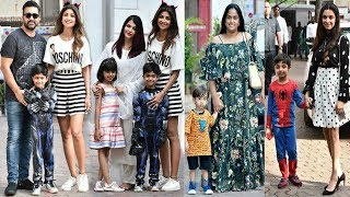 Bollywood Celebs With Their Kids ATTEND Shilpa Shetty