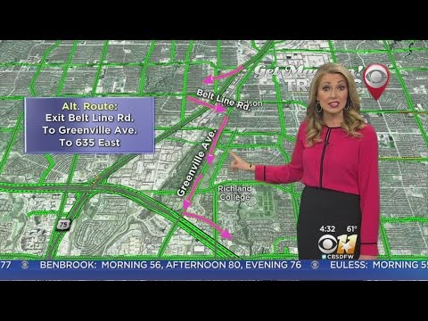 Traffic Alert: Ramps on High Five Closed