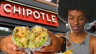 Chipotle Burrito Hack Taste Test