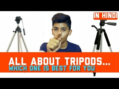 [HINDI] Best tripod which fits in your budget and needs!!