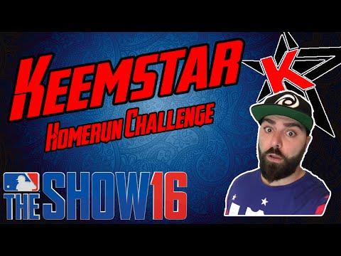 Can Keemstar Hit a Homerun?! MLB The Show 16
