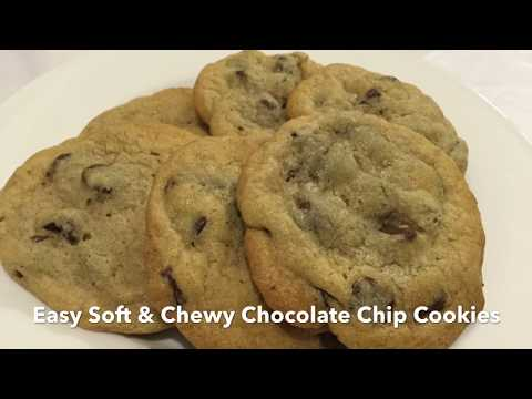 Easy soft and Chewy Chocolate Chip cookie recipe