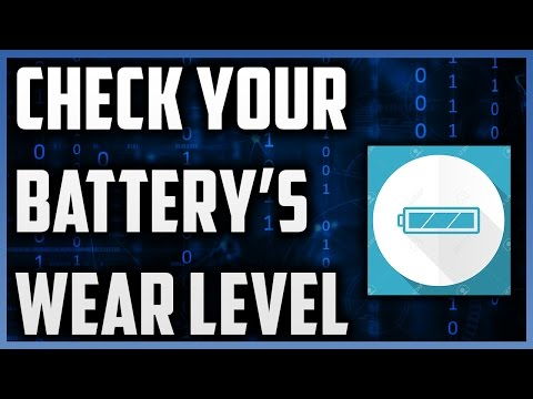 How To Check Your Battery Wear Level | When Should You Replace Your Battery | BatteryInfoViewer