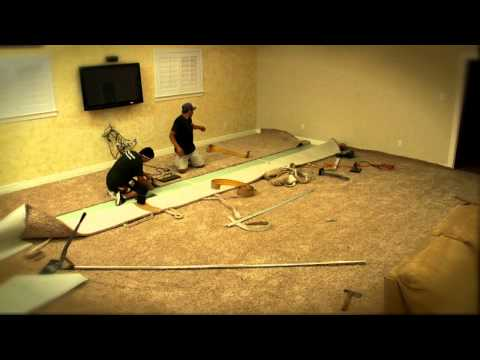 How We Install Carpet.