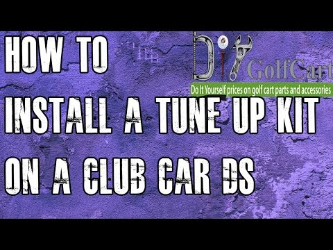 Club Car DS Tune Up Kit | Starter/Drive Belt | How to Install on Golf Cart