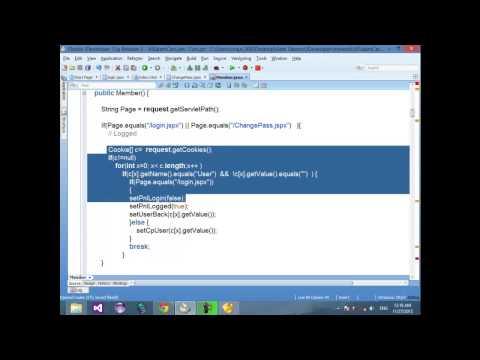 19 JSF ADF JAVA Change Password Complete   Design   Code