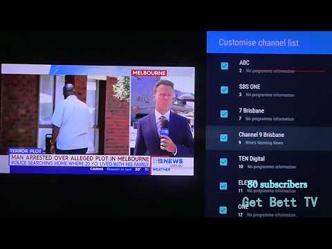 how to remove free to air channels Foxtel now box