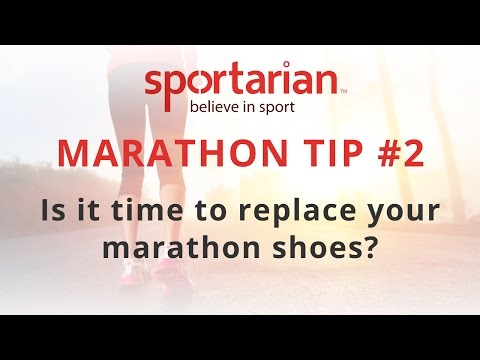 London Marathon Running Tips #2 When should I replace my running shoes?