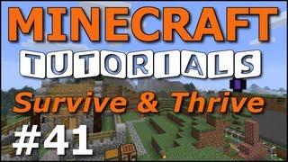 Minecraft Tutorials - E41 Nether Wart Farm (Survive and Thrive II) -  getplaypk