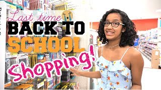 😍🛒 Back to School Shopping at Target 2018!!!