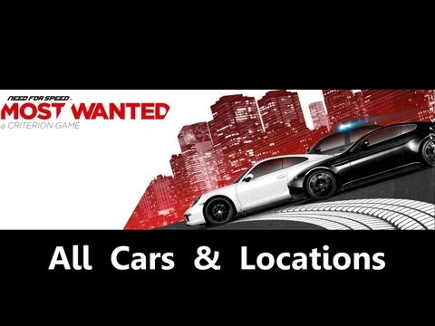 Need For Speed: Most Wanted - All cars & locations [1080p]