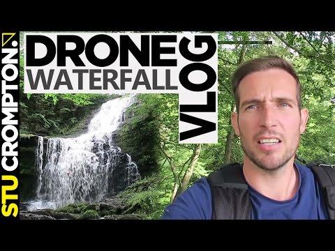 Drone vs Waterfall Phantom 3