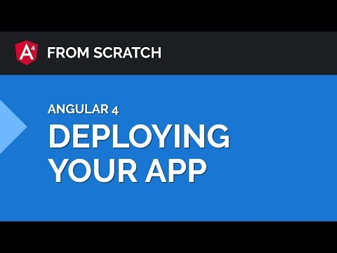 Deploying an Angular 4 App