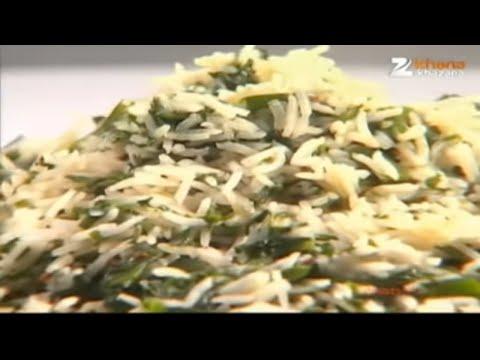 Palak Pulav - Sanjeev Kapoor - Quick Chef