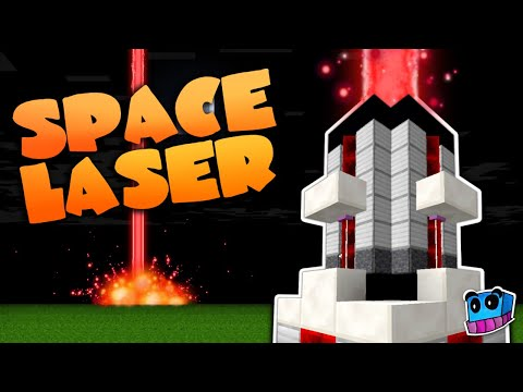 Minecraft: Space Laser in one command! | Working Laser Cannon | 1.12