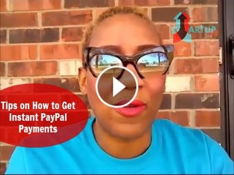 How to get instant PayPal Payments