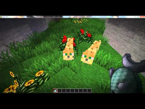 Minecraft - Adopting + Breeding Ocelots