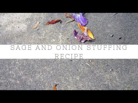 Sage and onion stuffing recipe