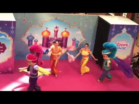 Shimmer and Shine Live musical 2018 / Have a zahramazing celebration / City Square Mall