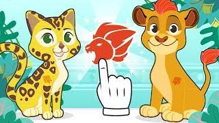 BABY PETS 🐱🐶 Kira y Max se disfrazan de animales de la sabana africana 🦁 Dibujos animados
