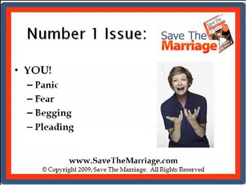 How To Start Saving Your Marriage