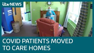 ITV News reveals plans to discharge Covid-19 patients into care homes | ITV News