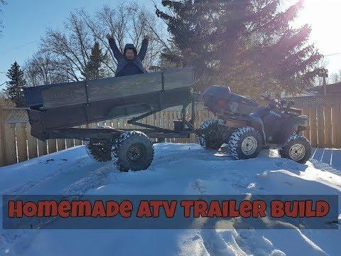 Homemade ATV dump trailer part 3 complete