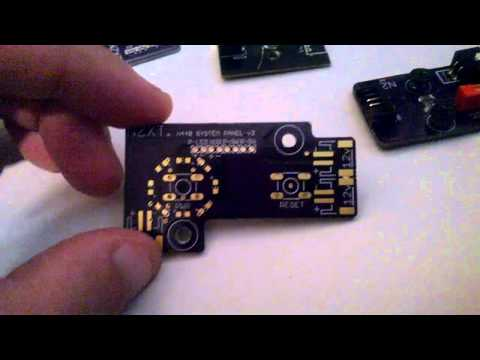 NZXT H440 Replacement Resistor board & power switch board Custom Replacment's