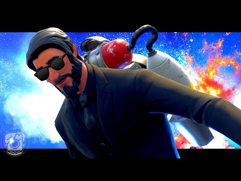 NEVER GIVE JOHN WICK A JETPACK - A Fortnite Short Film