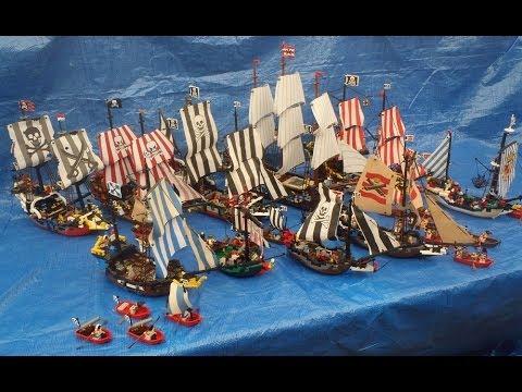 Epic Lego Pirate Fleet