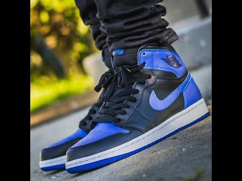 Jordan 1 Royal GS Review On Foot !!!!!