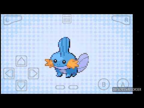 getting treeko, mudkip and Pikachu in Pokemon shiny gold x