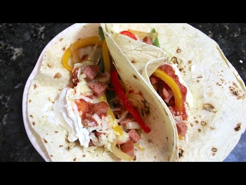 Sausage Fajitas Recipe: How To Make Homemade Fajitas With Smoked Sausage