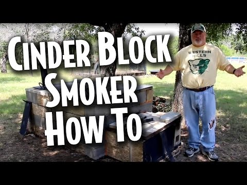 Cinder Block Smoker - Coach's BBQ