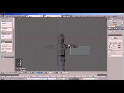 Create Humanoid Base-mesh (Time-lapse)