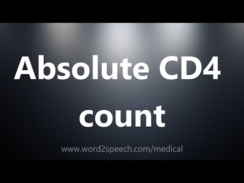 Absolute CD4 count - Medical Definition