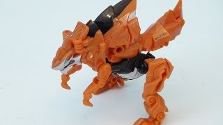 TRANSFORMERS 4 GRIMLOCK LEGION CLASS WALMART EXCLUSIVE VIDEO TOY REVIEW