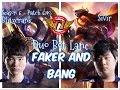Faker BLITZCRANK and Bang SIVIR DUO Bot Lane - Patch 6.10 KR | League of Legends