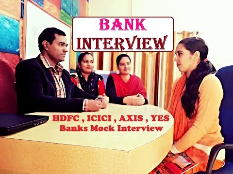 Bank Interview Practice - Questions and Answers - MOCK INTERVIEW FOR BANKING ASPIRANTS