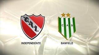 Independiente vs. Banfield. Fecha 14. Torneo de Primera División 2016/2017. FPT