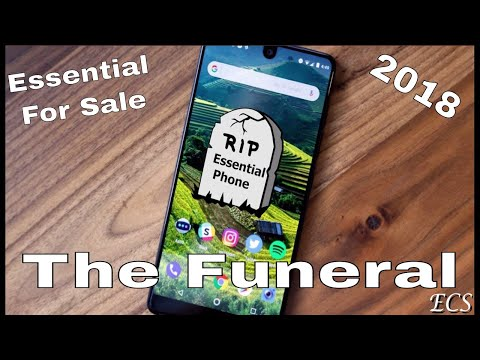 The Essential Phone 2 Is Canceled & Company For Sale 2018 | THE FUNERAL !!! | R.I.P ESSENTIAL