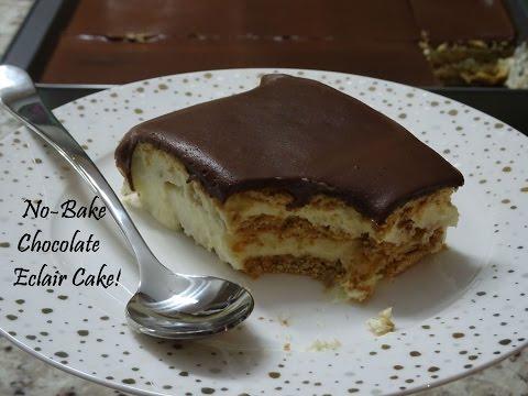 No-Bake Chocolate Eclair Cake -Recipe- | Ep #54