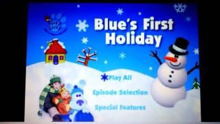 Blue's Clues- Blue's First Holiday Menu Walkthrough