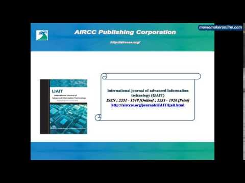 International Journal of Advanced Information Technology (IJAIT)