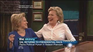 SNL Season Premiere Highlights - Hillary Sings, New Trump Debuts