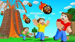 We Added NATURAL DISASTERS To MINECRAFT (dangerous)