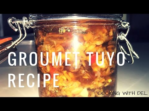 How to make Gourmet Tuyo (Herring)  Recipe
