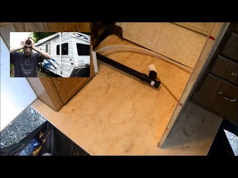 Camper Floor Replacement Without Removing Cabinets - Weekend Warrior FK2100
